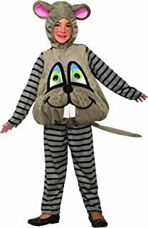 Forum Novelties 80522 Unisex-Children Wiggle Eyes Mouse Child's Costume, Small, Multicolor