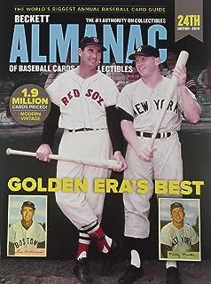 Becket Baseball Almanac of Baseball Cards & Collectibles: نسخه 2019 (Beckett Almanac کارتهای بیس بال و کلکسیون)