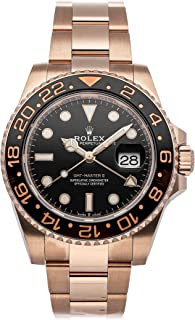 GMT Master II Mechanical (Automatic) Black Dial Mens Watch 126715CHNR (Certified Pre-Owned)