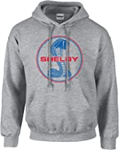 Ford Shelby Cobra Blue & Red Circle Logo Adult Hooded Pullover