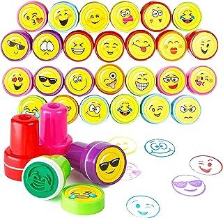 36 Sellos Emoji   Diseños Variados De Juguetes Premios Y Recompensas En El Aula   Rellenos Bolsos Para Fiestas Infantiles, Piñata, Cumpleaños Niños Niñas   Halloween Regalos Niño Piñata Fiesta