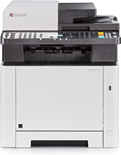 Kyocera Klimaschutz System Ecosys M5521cdw Farblaser Multifunktionsdrucker: Drucker, Kopierer, Scanner, Faxgerät. Inkl. Mobile Print Funktion. Amazon Dash Replenishment Kompatibel