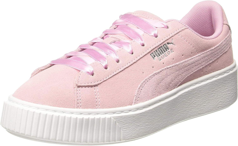 PUMA Women's Platform Galaxy WN's Low-Top Sneakers