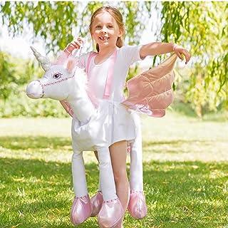 amscan Ride On Unicorn Childrens Costume Standard