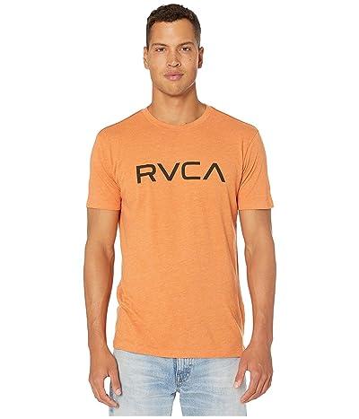 RVCA Big RVCA T-Shirt Shot Sleeve (Rust Orange) Men
