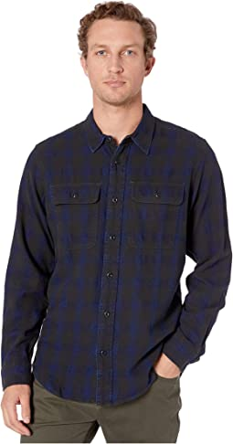 Black/Indigo Plaid
