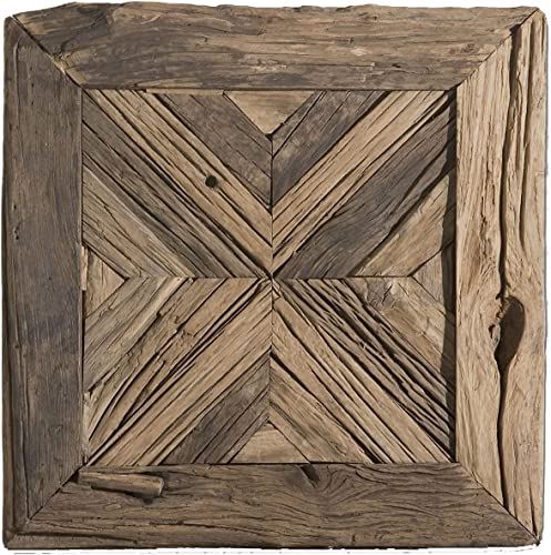 lowest Uttermost 04014 online Rennick discount Reclaimed Wood Wall Art, Brown online