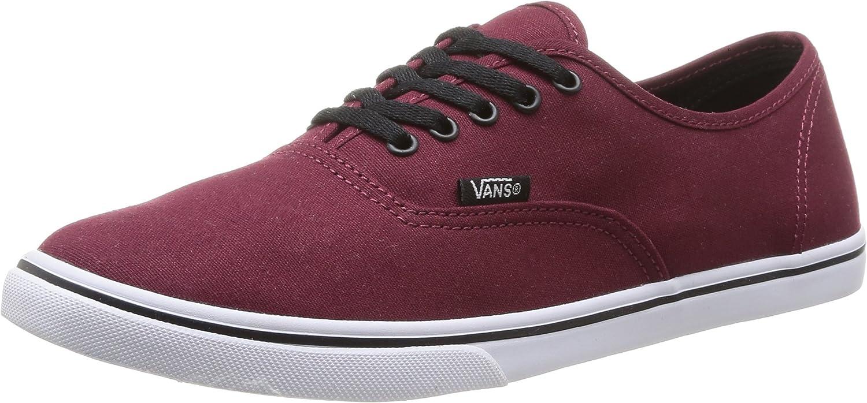 Vans Authentic Lo Pro shoes 6.5 B(M) US Women 5 D(M) US Men Tawny Port True White