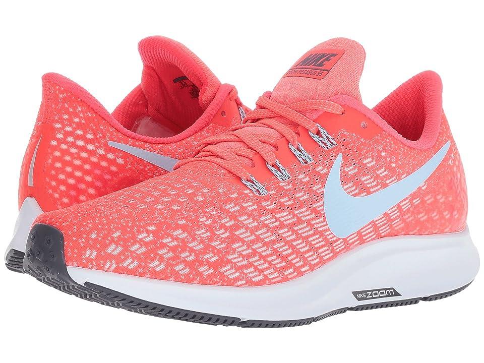 Nike Air Zoom Pegasus 35 (Bright Crimson/Gridiron/Gym Red) Women
