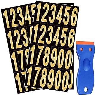 Best self adhesive table numbers Reviews