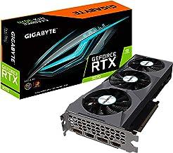Gigabyte GeForce RTX 3070 Eagle 8G Graphics Card, 3X WINDFORCE Fans, 8GB 256-bit GDDR6, GV-N3070EAGLE-8GD Video Card