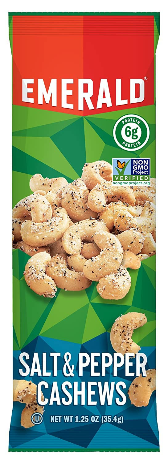 NEW before selling Emerald Salt and Recommendation Pepper 1.25 Ounce Cashews