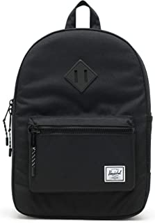 Herschel Supply Co. Kids' Heritage Youth Backpack, Black/BLK, One Size