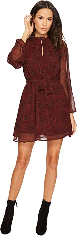 BB Dakota - Branton Printed Fit & Flare Dress