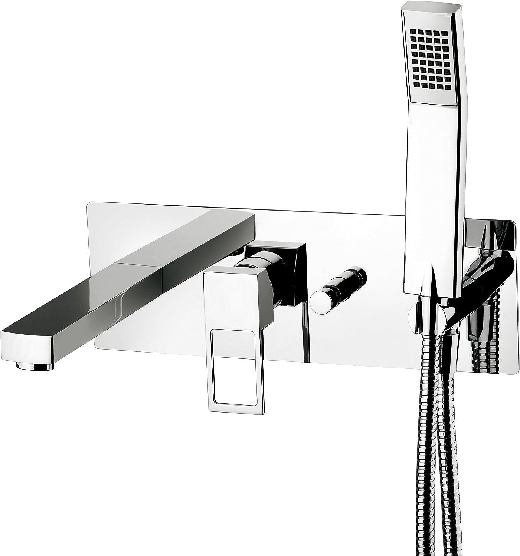 1870N Billig Bade-Einhebelmischer Mixer und Umsteller Auslauf und Dusche