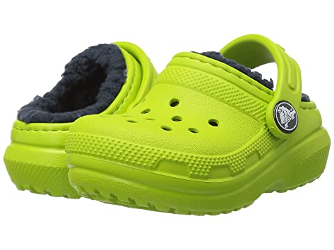 60c54d3a8745e6 Crocs Kids Classic Lined Clog (Toddler Little Kid) at 6pm