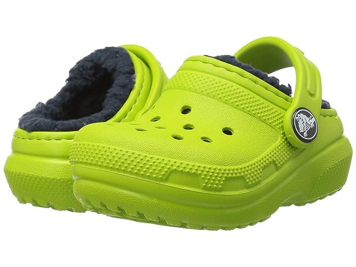 Crocs Kids Classic Lined Clog (Toddler