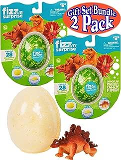 Moose Toys Fizz 'n' Surprise Dinosaurs Gift Set Bundle - 2 Pack (Assorted)