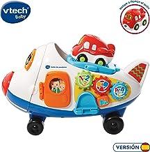 VTech- Avión de pasajeros TutTut Bólidos Juguete interactivo, incluye al vehículo Ramón (3480-503122) , color/modelo surtido