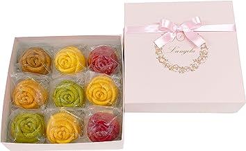 ランジェラ リュクス(マドレーヌ バラのマドレーヌ 薔薇 焼菓子 贈り物 ギフト フラワーギフト おしゃれ 可愛い お祝い 内祝い ブライダル)