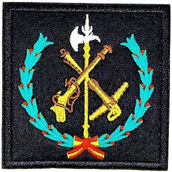 Gemelolandia Parche Termoadhesivo Legión española 8,5x8,5cm: Amazon.es: Ropa y accesorios