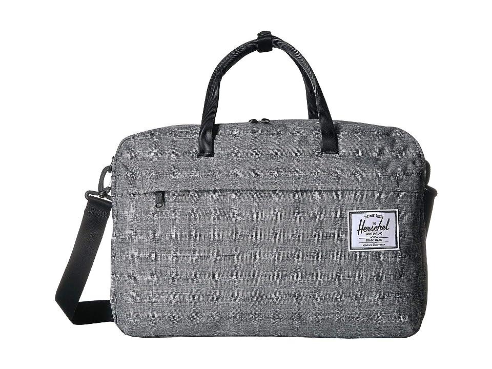 e3154e6b8f Herschel Supply Co. Bowen (Raven Crosshatch) Messenger Bags
