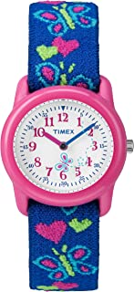 Timex Girls Time Machines Analog Elastic Fabric Strap Watch