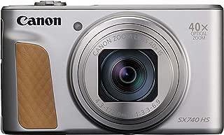 Canon デジタルカメラ PowerShot SX740 HS シルバー 110.1×63.8×39.9mm 光学40倍ズーム 4K動画対応 PSSX740HS(SL)