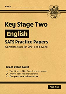 New KS2 English SATS Practice Papers: Pack 5 - for the 2022 tests (with free Online Extras)