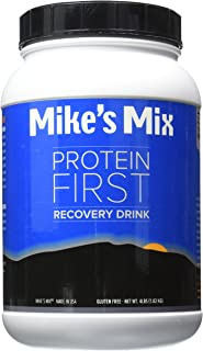 Mike's Mix Protein First Recovery Drink 4 lbs-Chocolate, Real Food Product, Simple and Natural