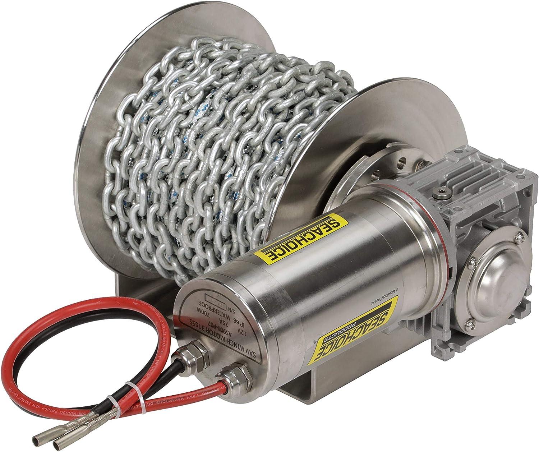 Seachoice 53704 Model 1000SS 送料込 再入荷/予約販売! Stainless-Steel Kit Winch Drum with