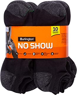 Burlington Men's Comfort Power Men's No Show Sock by Burlington Casual Sock