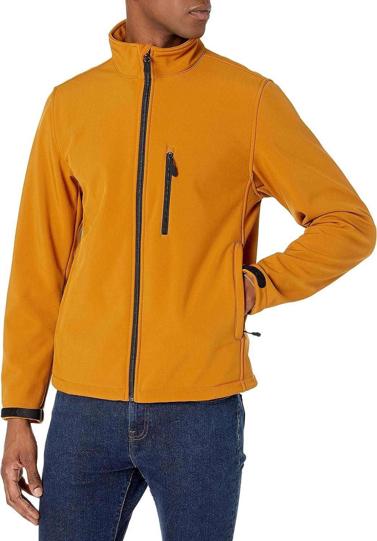 Amazon Essentials Men's Water-Resistant Softshell Jacket Ranking TOP16 Max 73% OFF