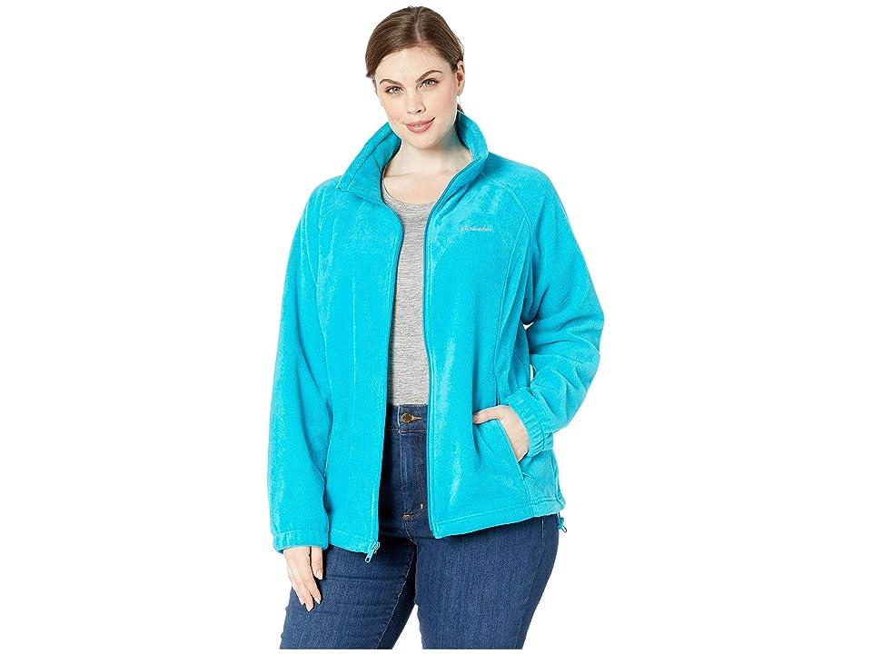 Columbia Plus Size Benton Springstm Full Zip (Modern Turquoise) Women