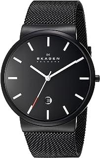 Skagen Men's SKW6053 Ancher Analog Quartz Black Stainless Steel Watch