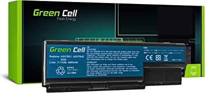 GC  Laptop Akku f r Acer Aspire 5942 5942G 5942G-334G64BN 5942G-434G50MI 5942G-454G50MNBK  4400mAh 10 8V Schwarz