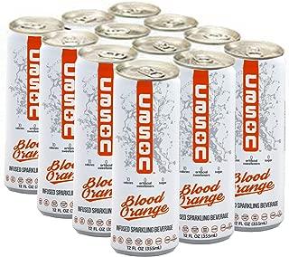 CASON Beverage | Blood Orange | Naturally Flavored Sparkling Water Drink | Healthy Alternative to Pop, Soda, and Juice | Gluten Free, Sugar Free, Vegan, Low Calorie, Diabetic, 12 Pack
