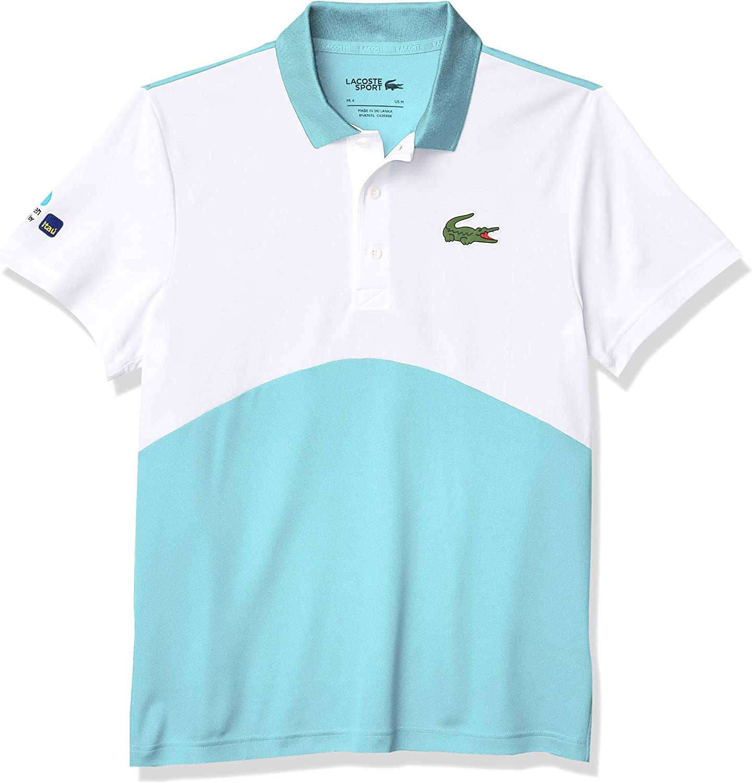 Lacoste Men's Sport Miami Open Ultra Dry Colorblock Polo Shirt