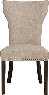Boraam 82518 Monaco Parson Dining Chair, Oatmeal