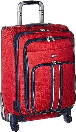 """Classic Signature 21"""" Jacquard Suitcase"""