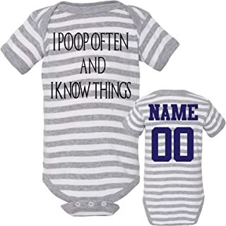 Cotton Baby Onesies Funny Short Sleeve Bodysuit