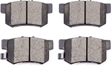 Brake Pads,ECCPP 4pcs Rear Ceramic Disc Brake Pads Kits for Acura Legend Acura RDX Acura RL Acura TL,Honda CR-V Honda Element, Honda Odyssey,Isuzu Oasis