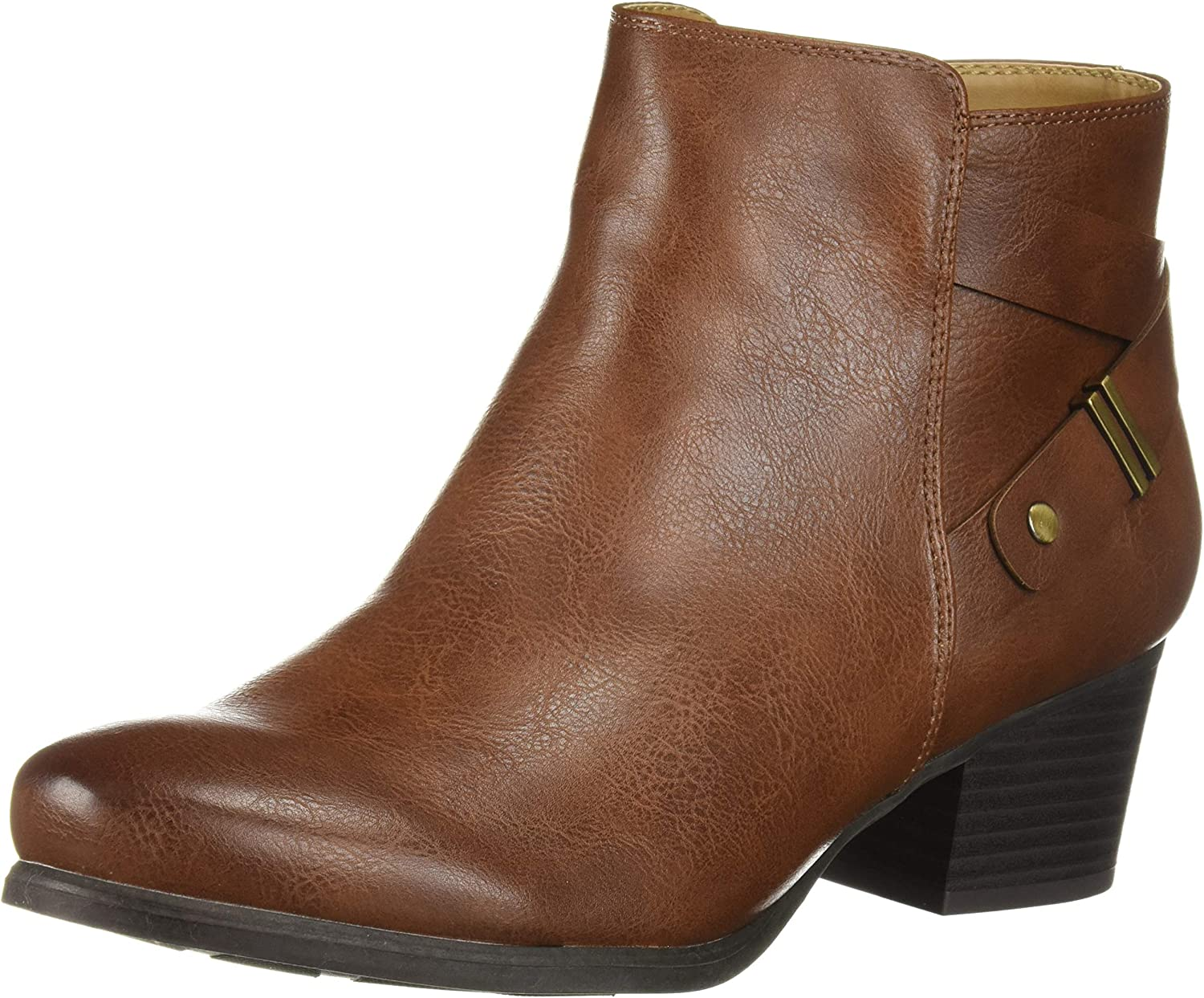 SOUL Naturalizer Women's Calm Ankle Boot Whiskey 10 M US