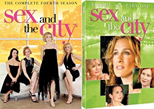 Sarah Jessica Parker stars in Sex and the City - The Complete Fourth Season & Season Six: Part One DVD Set Bundle