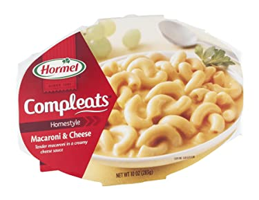 Hormel Microwavable Compleats Homestyle Macaroni & Cheese 10 oz (Pack of 6)