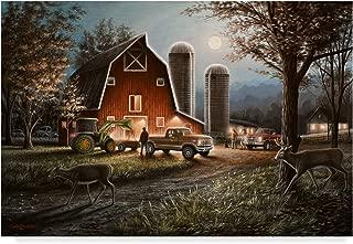 Trademark Fine Art October Nights by Chuck Black, 30x47-Inch Fine Art Multicolor