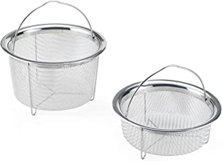 Instant Pot Official Mesh Steamer Basket, Set of 2, Stainless Steel