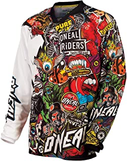 O'Neal Mayhem Crank Men's Jersey (Black/Multi, X-Large)