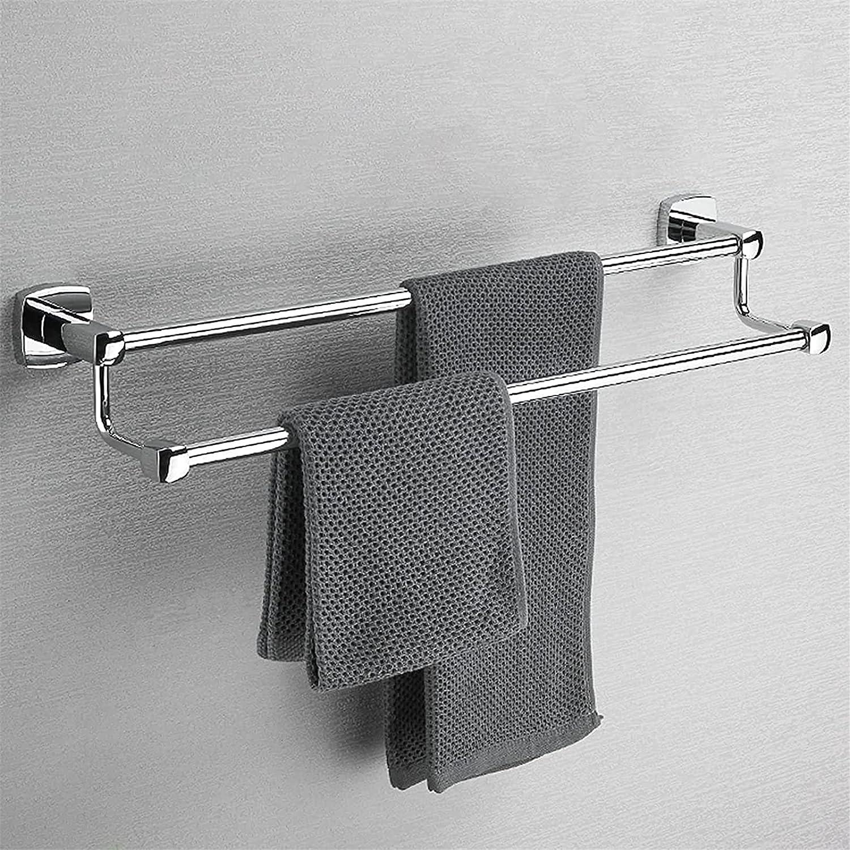 ZJDU Towel Ranking TOP3 Rack Large Free shipping / New Size Bathroom Double Rail for Bar