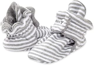 Boot's Bees's Baby Unisex Baby Booties، Organic Cotton Baby Adjustable Shoes